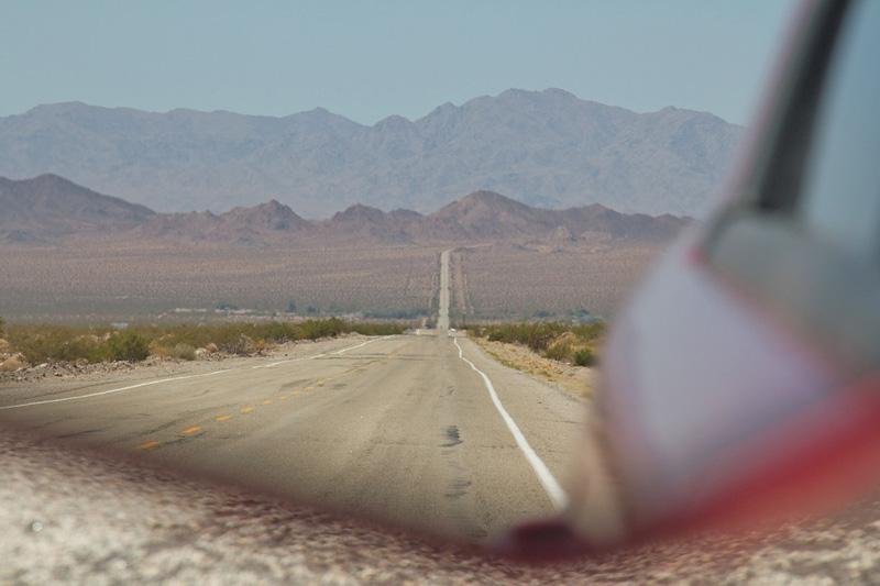 Towards the Mojave Deserts CA